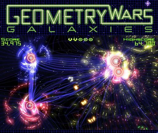 Geometry Wars Galaxies Confirmed for Nintendo Wii, Ds