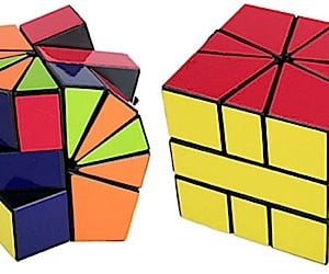 Irregular Iq Cube Gives Rubik a Run for His Money