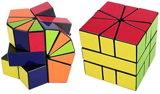Irregular IQ Cube Puzzle