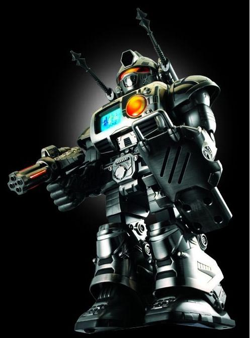 King Titan Electroplate Chrome Robot