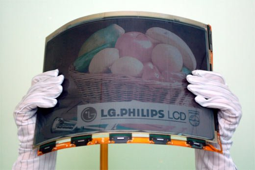LG Philips Show Off a Flexible Color Screen