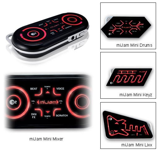 Mijam Mini Synthesizers Let You Make Music Anywhere