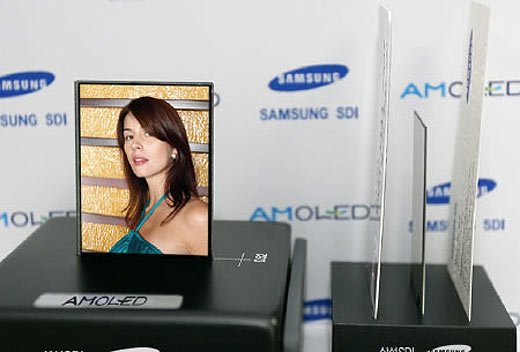 Samsung Amoled Thin Displays