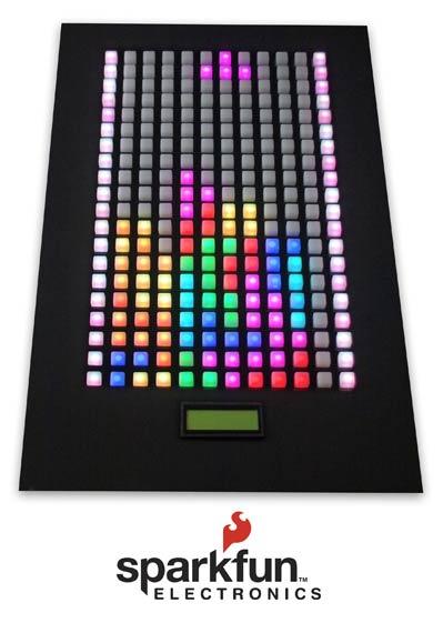 Sparkfun Tetris Board