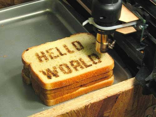 CNC Toaster