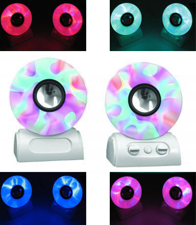 Toyo I-Lit LED Speakers Mesmerize With Hypnotic Colors