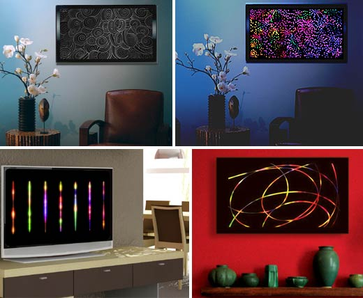 Tv2art Lightascope Converts Flat Panels Into Live Art