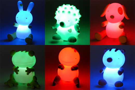 USB Light Up Animals: So Cute, I Wanna Puke