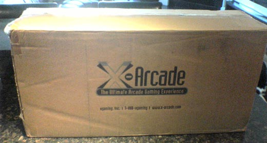 X-Arcade Dual Tankstick Controller Box