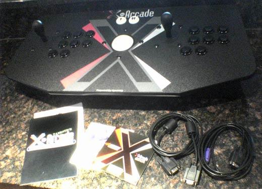 X-Arcade Dual Tankstick Controller Complete