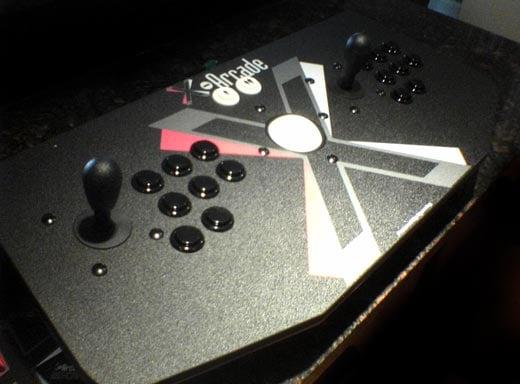 X-Arcade Dual Tankstick Controller Front