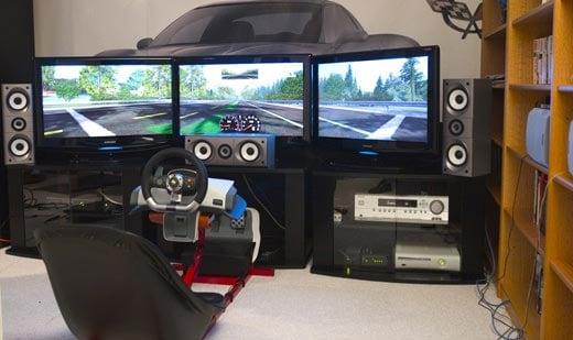 Xbox 360 Racing Rig
