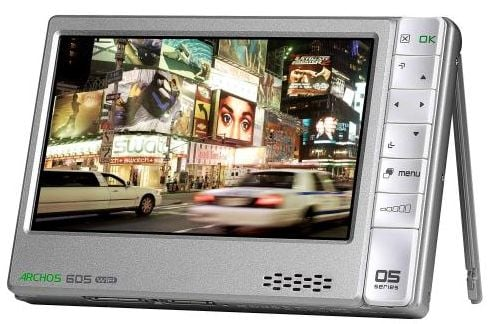 Archos 105, 405, 605, 705 Media Players Announced