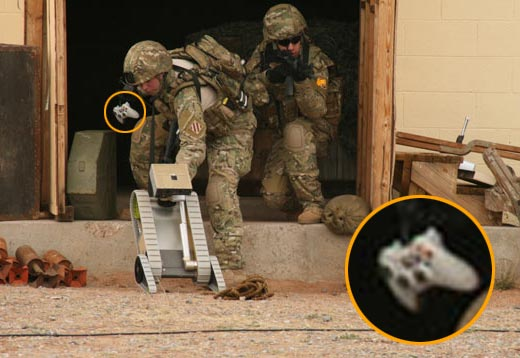 Us Army Remote Vehicles Using Xbox 360 Controller?