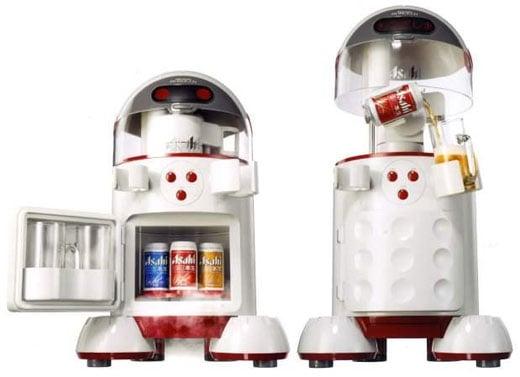 Asahi Robocco Beer Pouring Robot