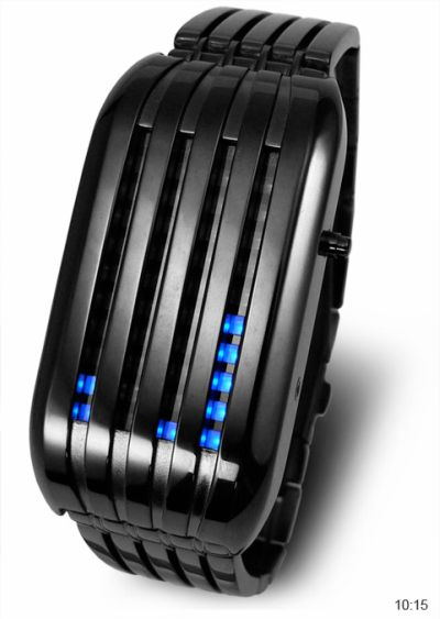 Tokyoflash Barcode Watch: Back in Black