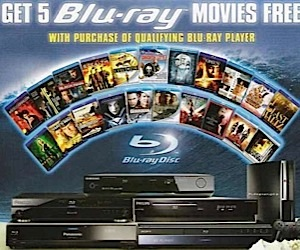 Blu-ray to to Give Away Free Movies
