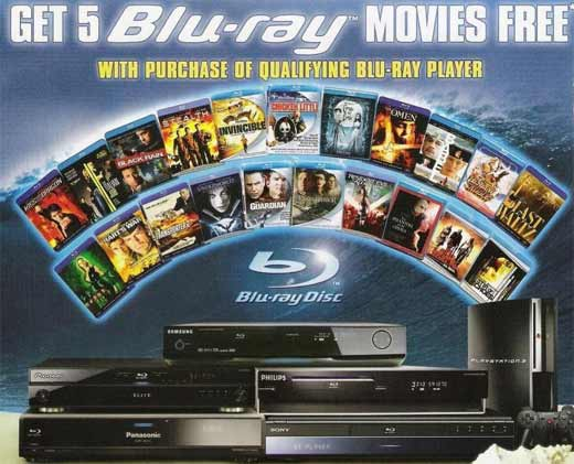 Blu-ray Free Disc Offer