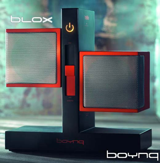 Boynq Blox Speakers Make Sound Square