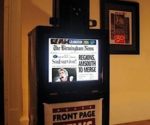 The Digital Newspaper Machine Mash Up