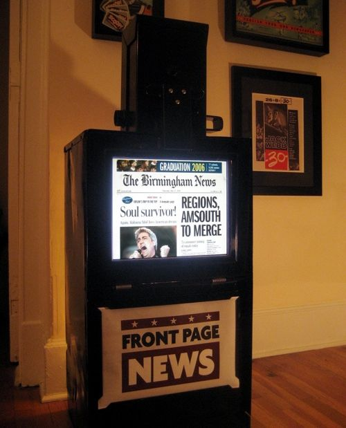 The Digital Newspaper Machine Mash Up