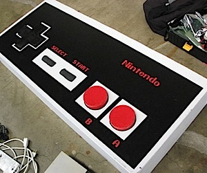 Giant Nintendo Controller Won't Fit in Your Hands