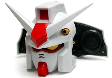 Gundam Head Speakers
