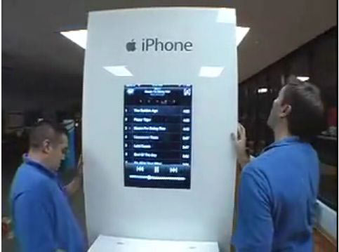 iPhone Kiosk Preview