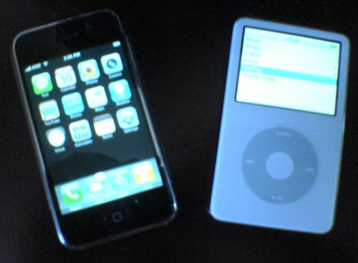 iphone vs ipod