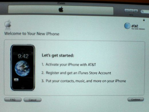 itunes activation