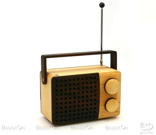Magno Radio is Made Out of Wood