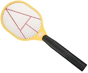 Electric Tennis Racket Serves Up Pesky Mosquitos