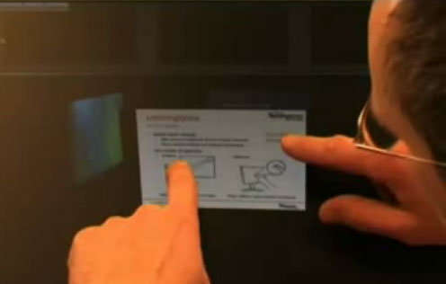 Microsoft Shows Multi-Touch Laptop Concept