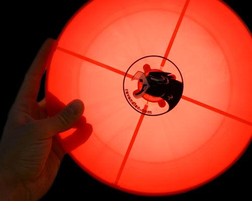 Frisbee Lights Up the Night, Looks Like Ufo