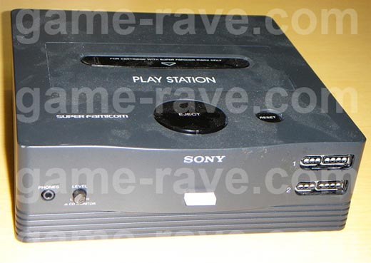 Sony Playstation Super Nintendo Original Prototype