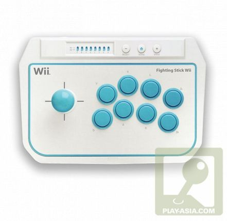 Arcade Joystick Coming for Nintendo Wii