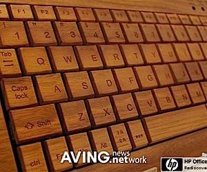 Wooden Computer Peripherals