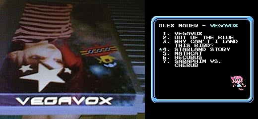 Alex Mauer's Vegavox NES Cartridge