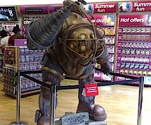 Bioshock Big Daddy Gets Real