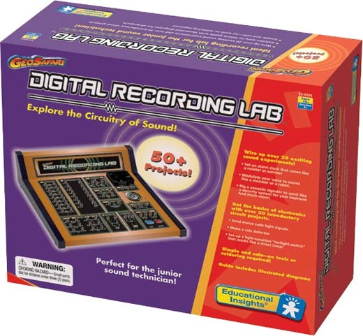 GeoSafari Digital Recording Lab