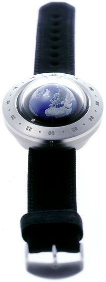 Think The Earth WN-1 Globe Watch