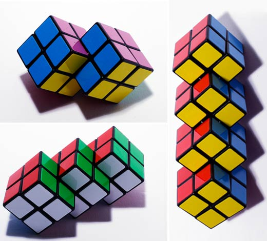 Rubik's Cube Goes Into the Next Dimension