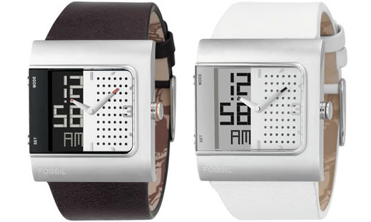 Fossil Analog Digital Watch has a Split Personality