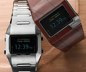 Fossil OLED Multi-Color Digital Watches Revealed