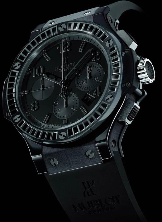 Hublot Big Bang 44mm All Black Carat Watch