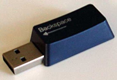 Turn That Old Keyboard Into Memory Sticks