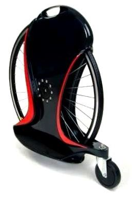 Magicwheel: 20 Mph on a Single Wheel