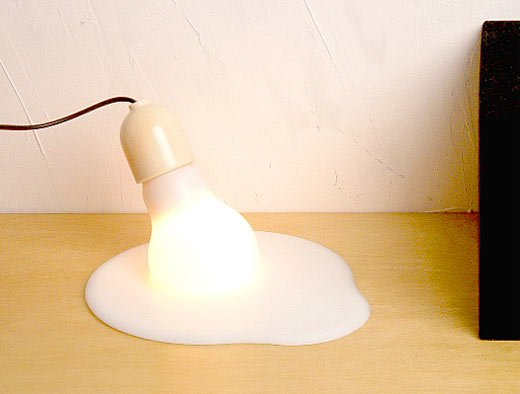 Melting Bulb Lamp