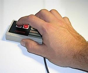 NES Controller Mouse Mod