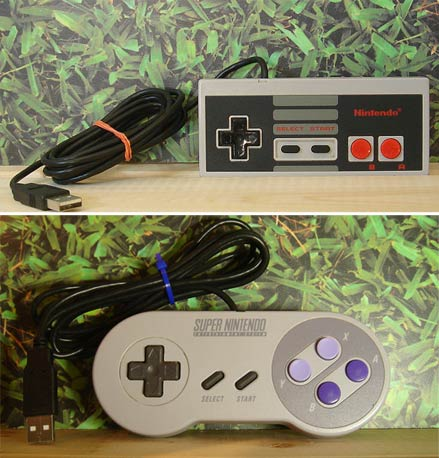 Nintendo USB Controllers by Phreque